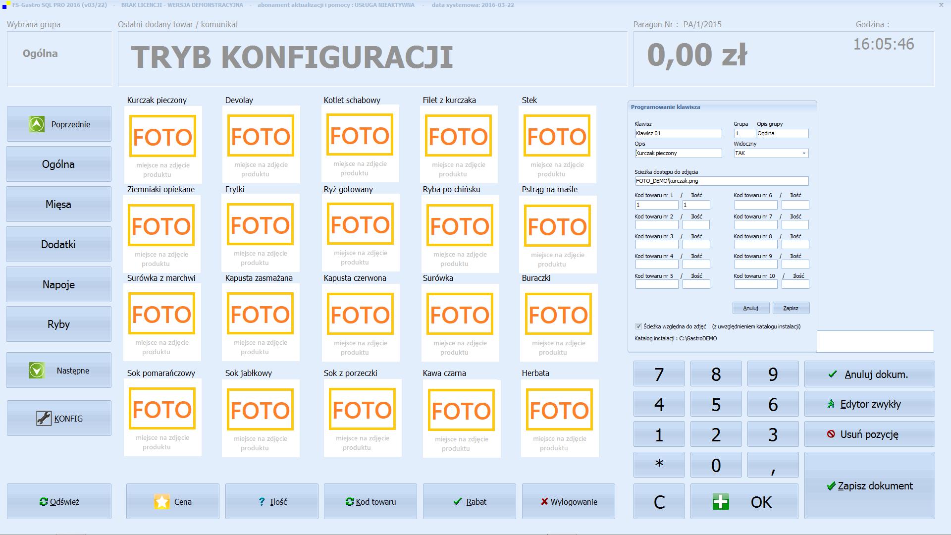 FS-Gastro SQL