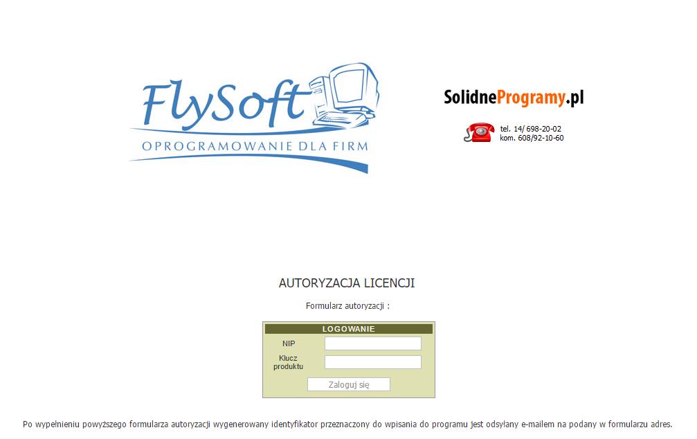 Autoryzacja licencji