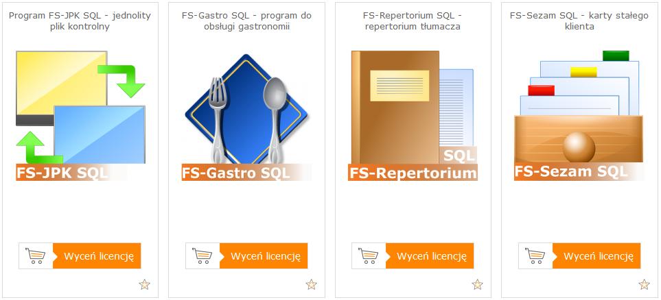 Lista program�w