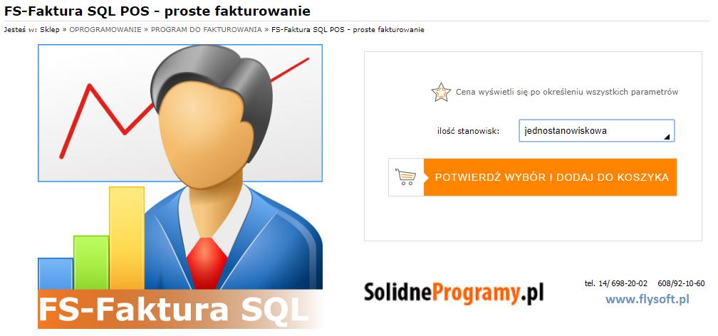 FS-Faktura SQL, FlySoft, SolidneProgramy, FlySoft.pl, SolidneProgramy.pl