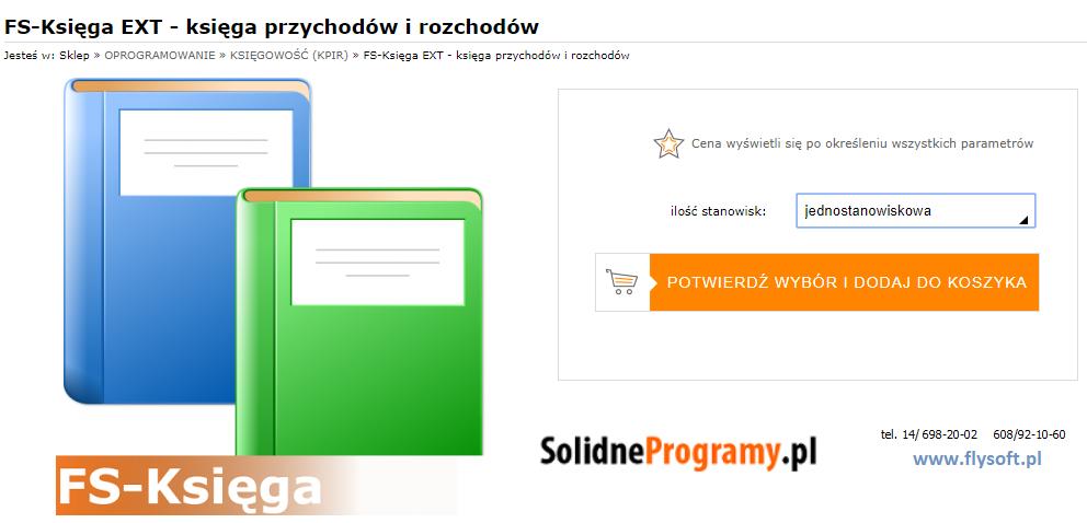 FS-Księga, FlySoft, SolidneProgramy, FlySoft.pl, SolidneProgramy.pl