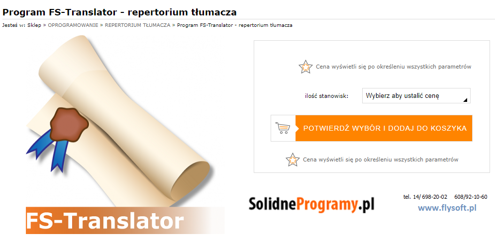 FS-Translator, FlySoft, SolidneProgramy, FlySoft.pl, SolidneProgramy.pl